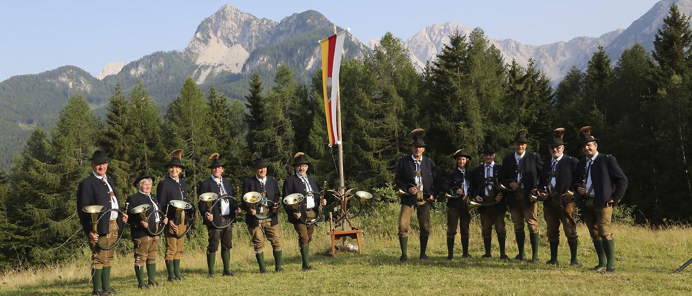 Jagdhornbläser Bärental