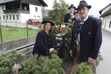 04.10.2015 - Erntedankfest in Feistritz/Ros.