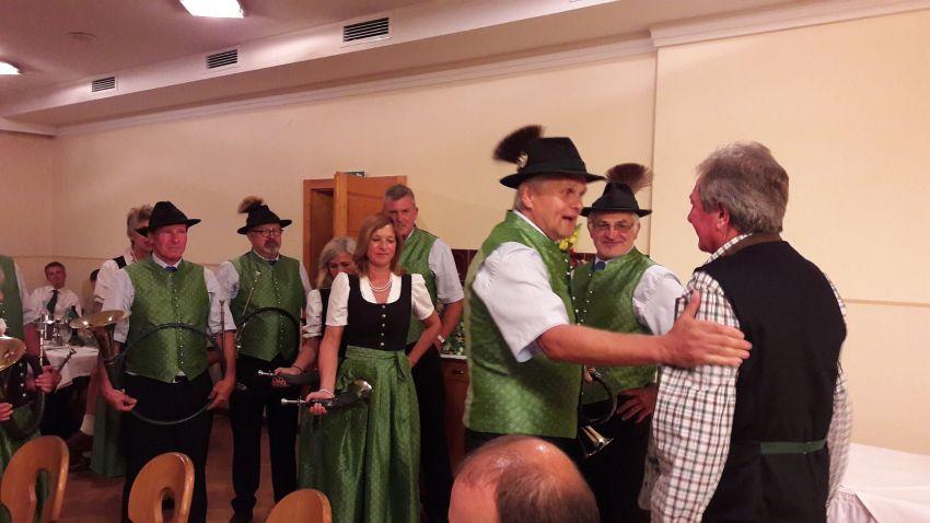 12.08.2017 - Geburtstagsfeier Obmann der Jagdgesellschaft Feistritz/Ros.