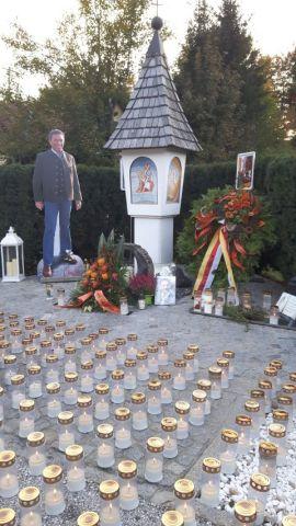 11.10.2017 - Kranzniederlegung Gedenkstätte Lambichl