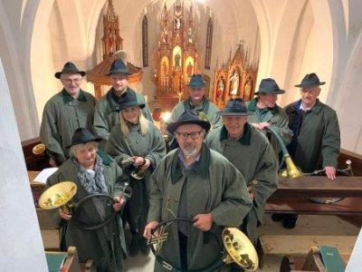 03.11.2019 - Hubertusmesse Loibltal Kirche St. Leonhard 17:00 Uhr